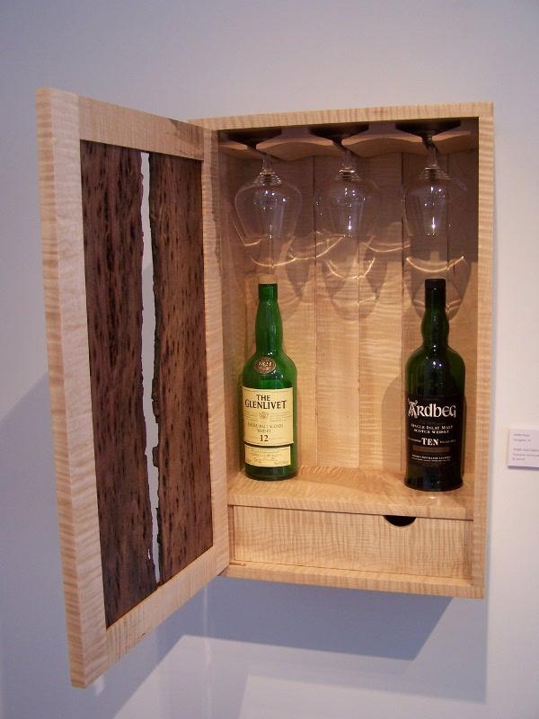 Aaron Koss Custom Fine Furniture Single Malt Scotch Cabinet